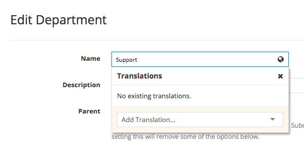 Translation Modal