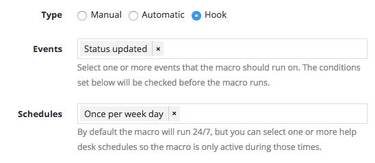 Hook macro