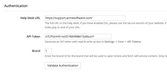 Authentication Details